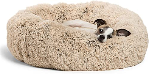 Best-Friends-by-Sheri-The-Original-Calming-Donut-Cat-and-Dog-Bed-in-Shag-Fur