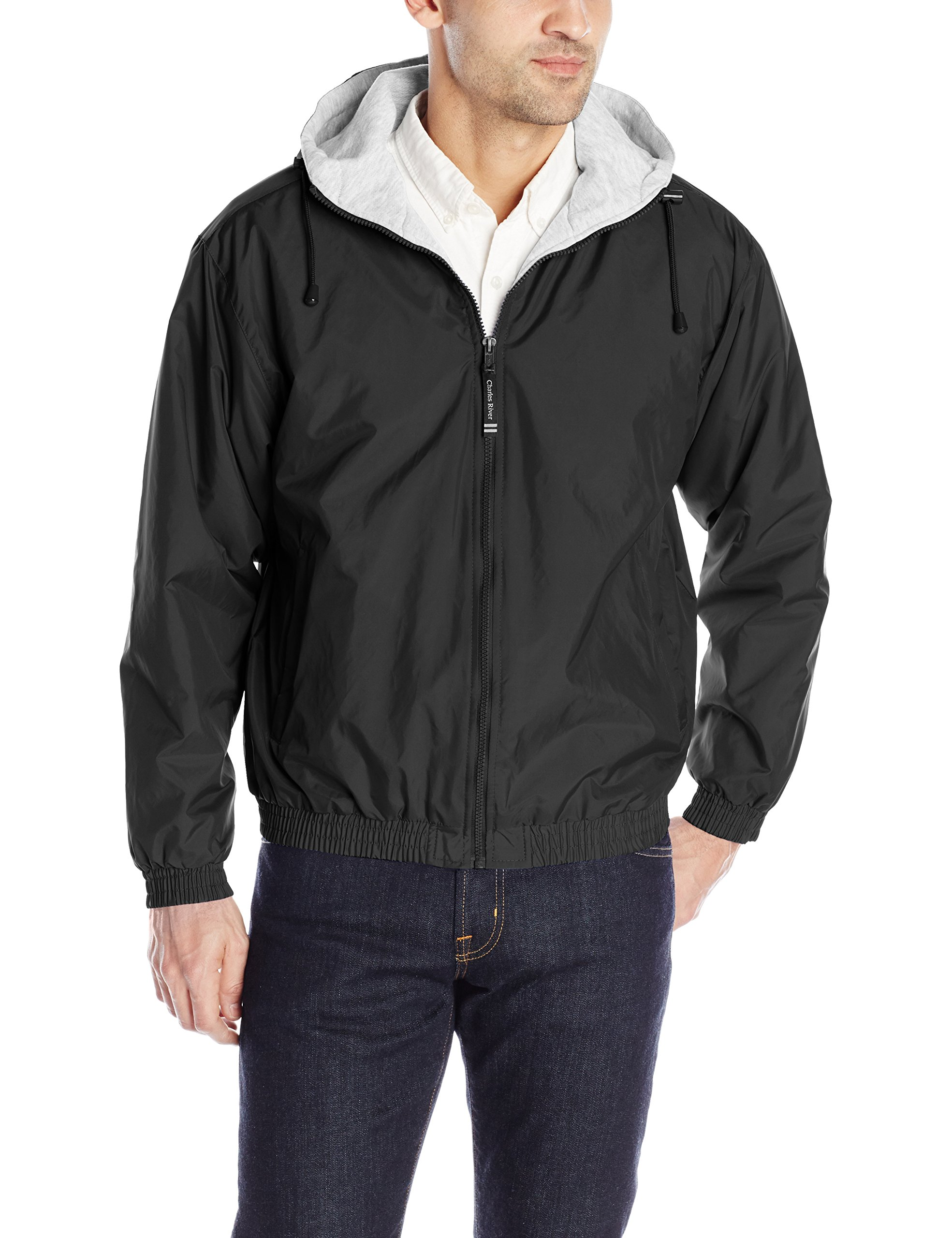 Charles River Apparel Men's Performer Jacket, Black, Medium by Charles River Apparel