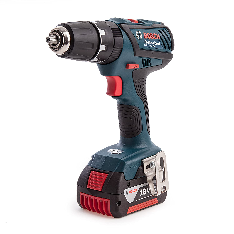 Bosch 0615990K0X Professional Compact Combi Drill, 18 V, Blue