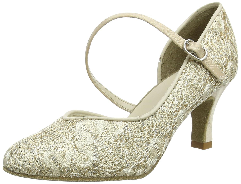 So Danca Bl504, Zapatillas de Baila Moderno y Jazz para Mujer 35-35.5  (US 6) Dorado (Gold Sparkle)
