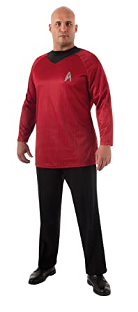 Rubieu0027s Plus-Size Star Trek Into Darkness Deluxe Scotty Shirt With Emblem Red/  sc 1 st  Amazon.com & Amazon.com: Rubieu0027s Plus-Size Star Trek Into Darkness Deluxe Scotty ...