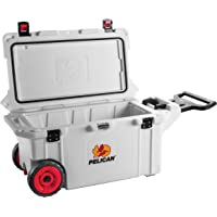 Pelican 80-Quart Wheeled Elite Cooler (Marine White or Tan)