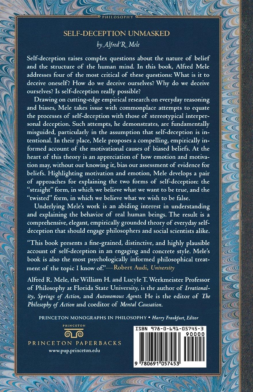 Self-Deception Unmasked (Princeton Monographs in Philosophy)