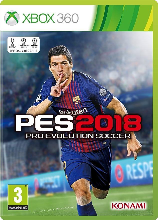 PES 2018 (Xbox 360): Amazon co uk: PC & Video Games