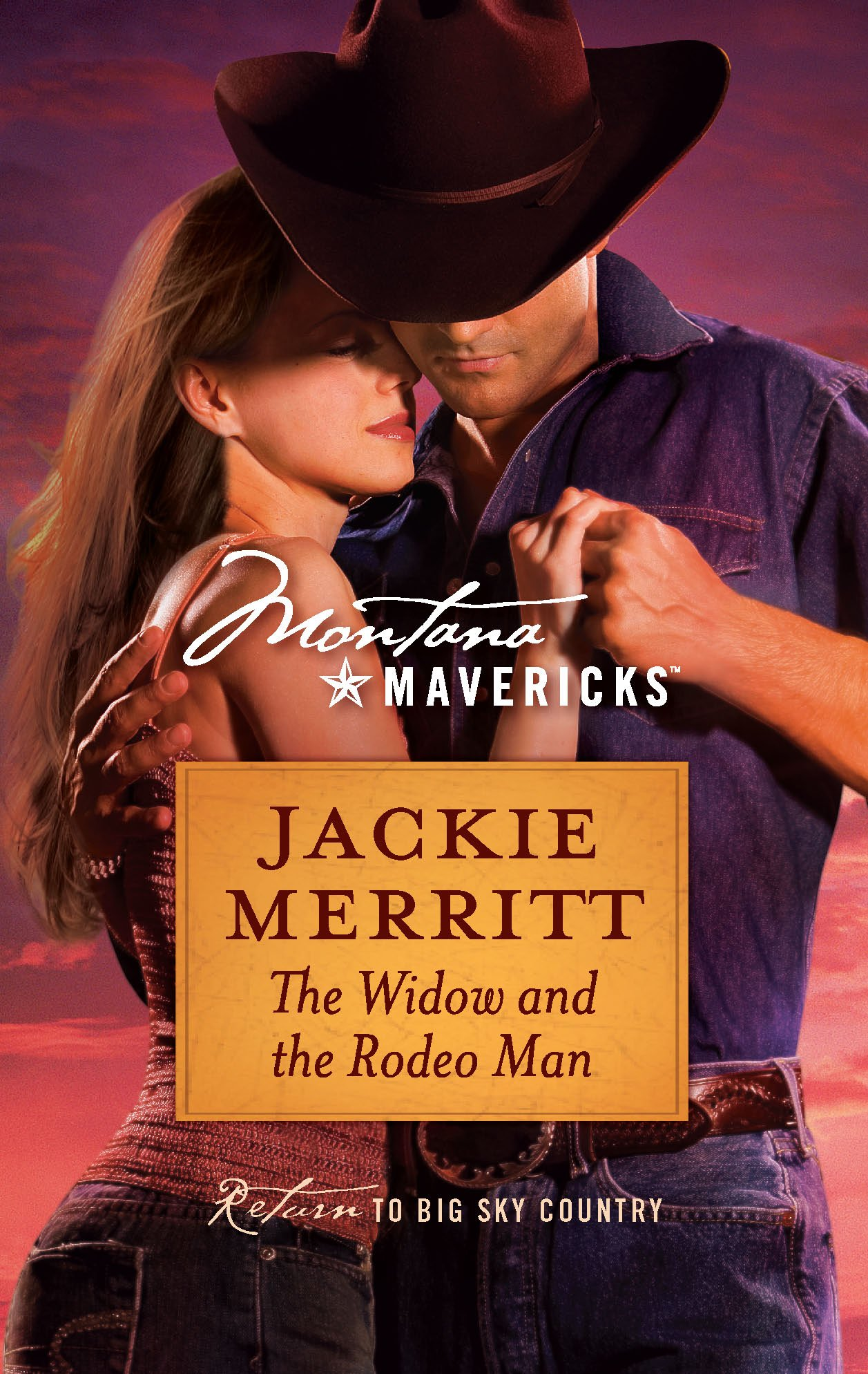 Read Online The Widow and the Rodeo Man (Montana Mavericks) PDF