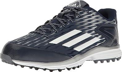 adidas Men's PowerAlley 3 Turf Collegiate Navy/White/White Athletic Shoe