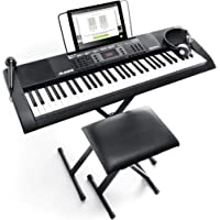 Alesis 16/MELODY61MK2 Melody 61 MKII 61-Key Portable Keyboard with Built-In Speakers and Accessory