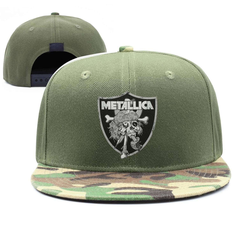 95085388 Amazon.com: Unisex Metallica-Raiders-Pirate- Hip-hop Cap Adjustable ...