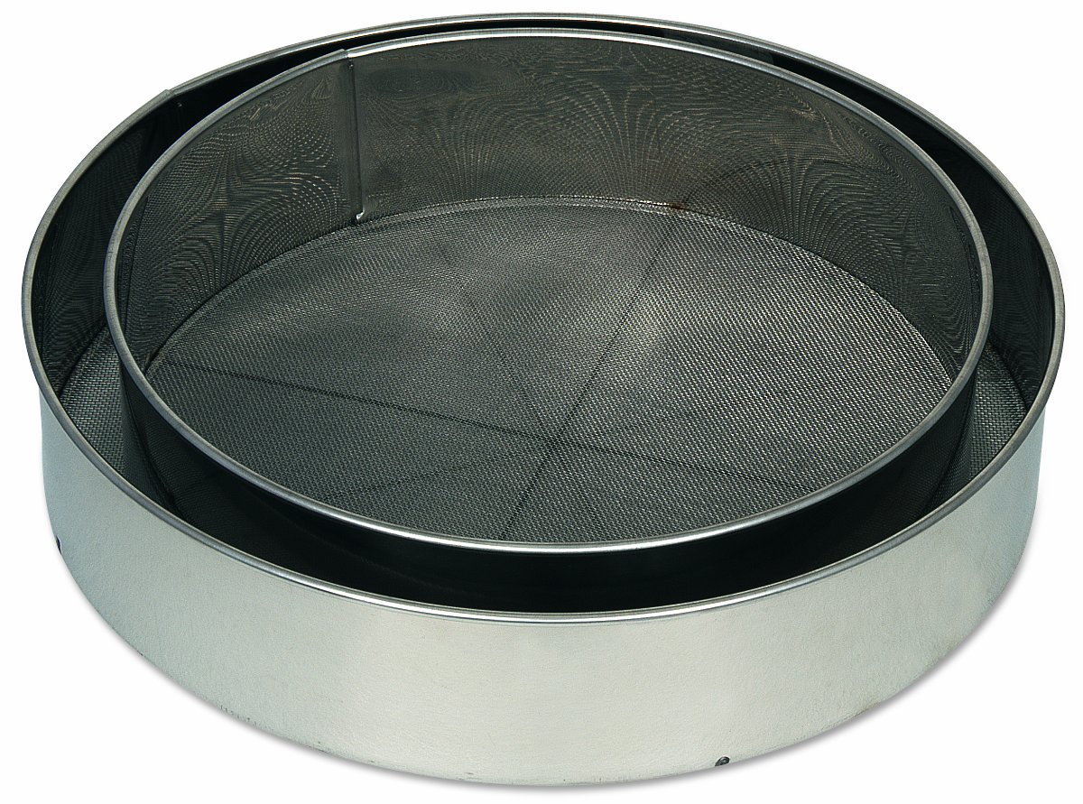 Other Bakeware Alegacy S9908 Stainless Steel Rim Sieve 8