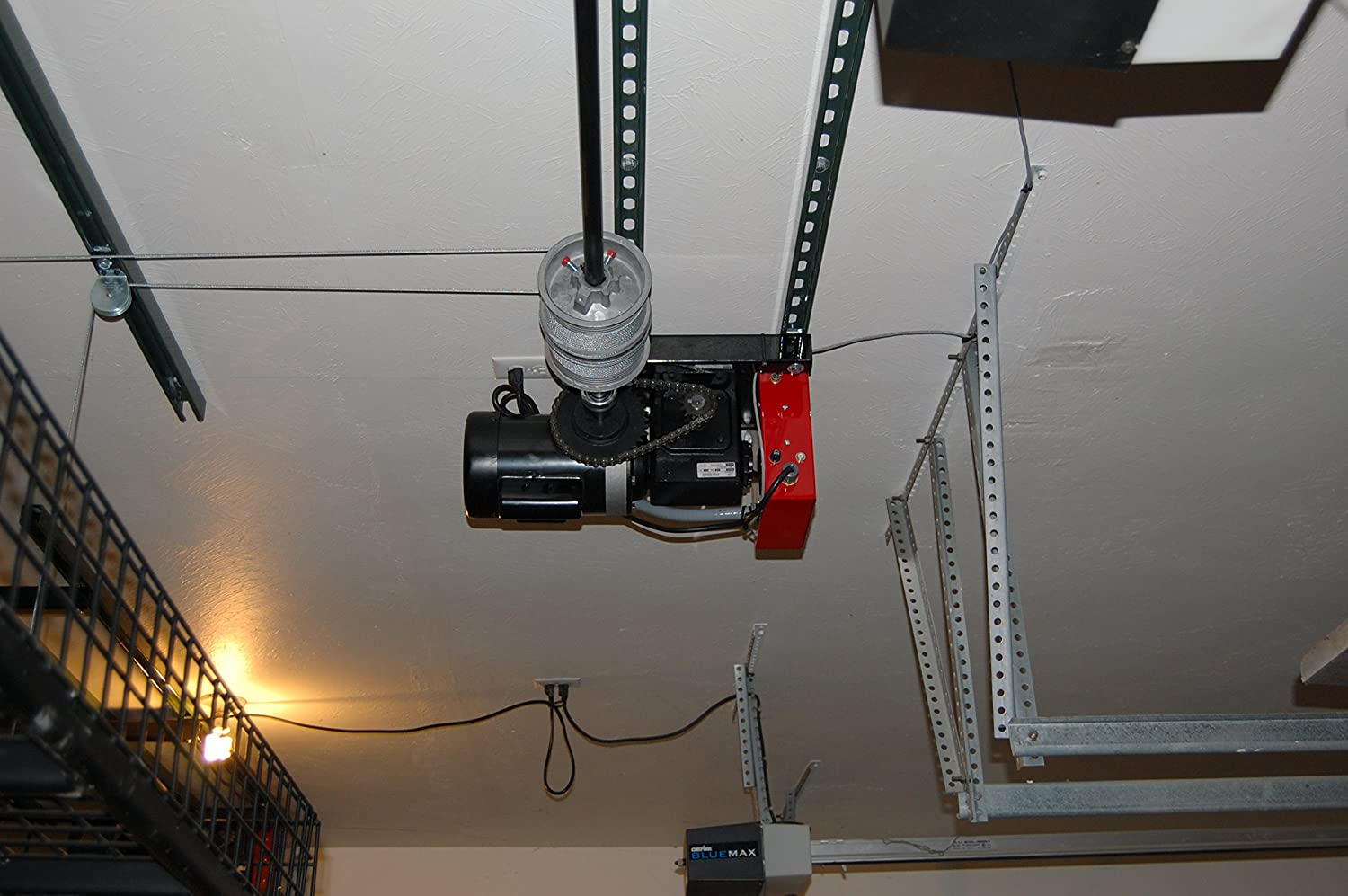 810vzk16FNL._SL1500_ amazon com ceiling storage lift raises 500 pounds of your items  at webbmarketing.co