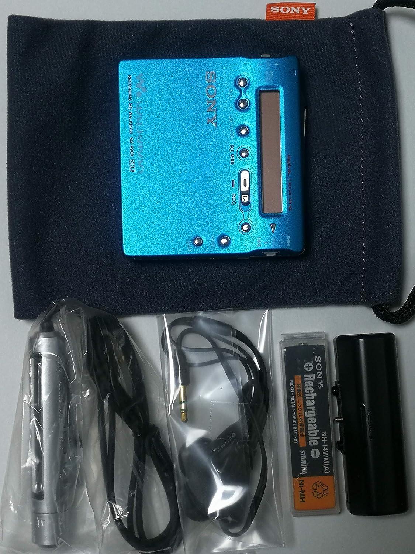 SONY ソニー MZ-R900(L) ブルー ポータブルMDプレーヤー MDLP対応 (MD録音再生兼用機/MDウォークマン/レコーダー)
