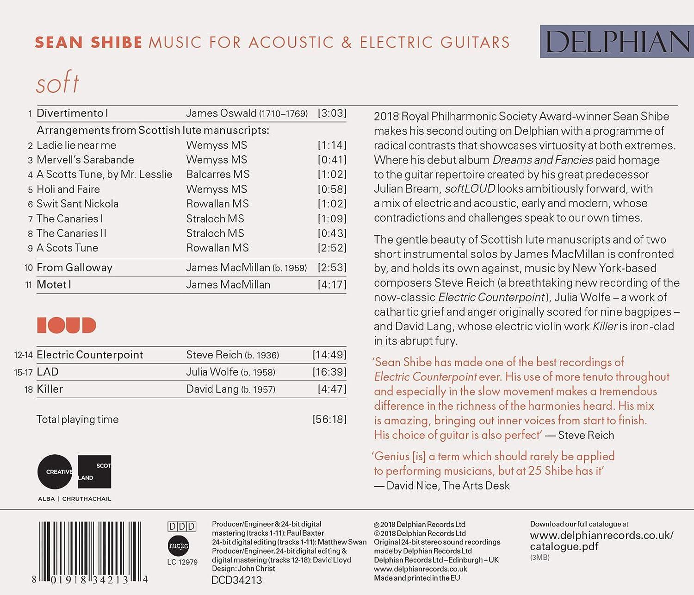 softLOUD : Musique pour guitares acoustique et électrique: Lang ...