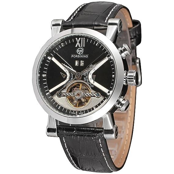 Reloj pulsera FSG2371M3S1, de Forsining, para hombre, con calendario automático, diseño Steampunk: Amazon.es: Relojes