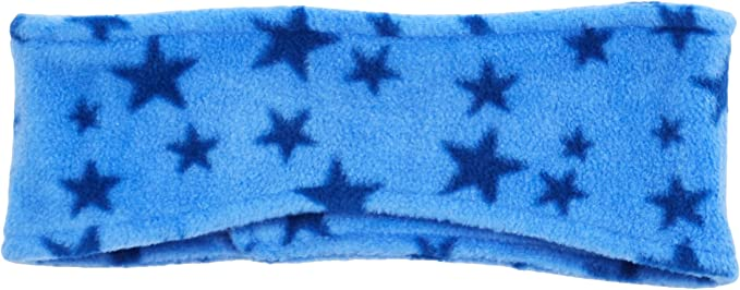 Playshoes Girls Fleece-stirnband Sterne Headband