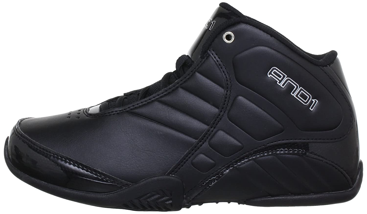 3e2916c9ed8 AND1 Men s Rocket 3.0 Mid Basketball Shoe Black  Amazon.ca  Shoes   Handbags
