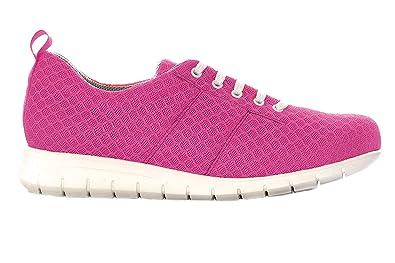 Zapatillas cómodas Mujer Marca Oneflex - Calzado de Confort, liviano y Antideslizante- Forro Coolmax- Color Fucsia: Amazon.es: Zapatos y complementos