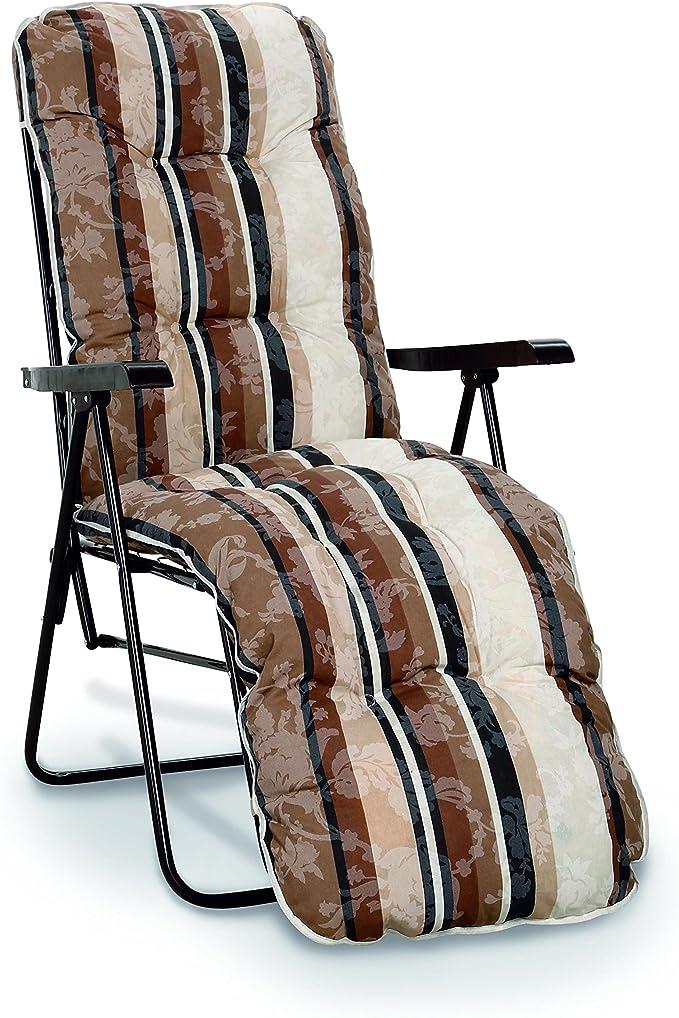 Best 37301715 Relaxliege Sylt D 1017 Braun Amazon De