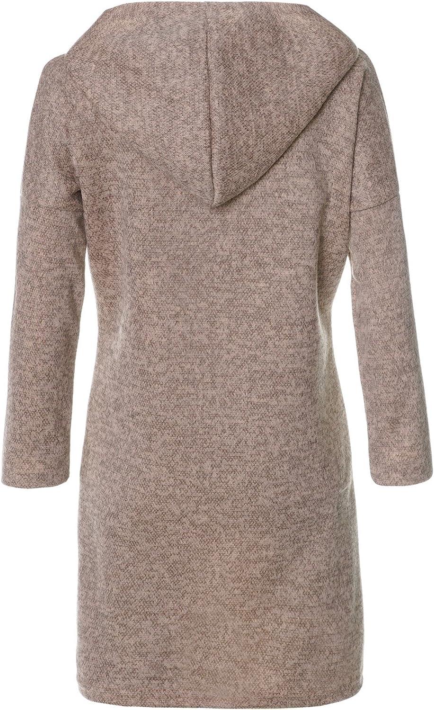 BEZLIT M/ädchen Pullover Kleid Tunika Kapuze 21579