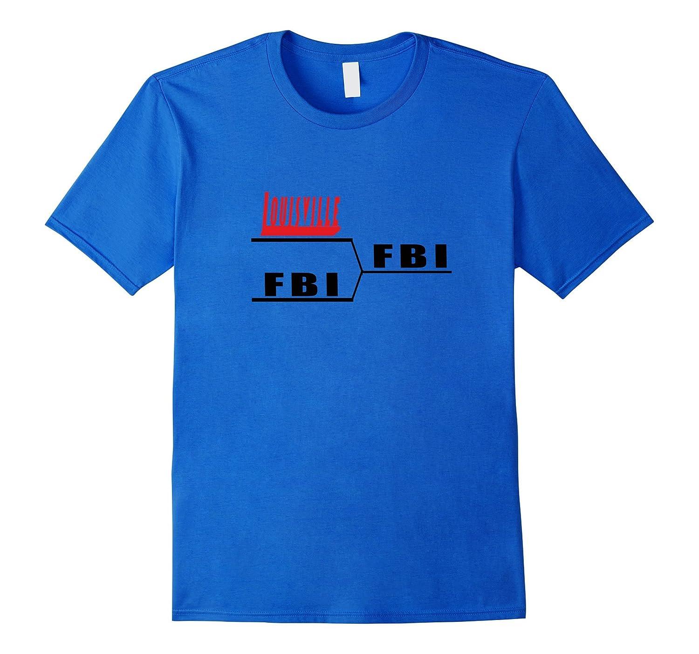 Kentucky Cool Louisville vs FBI Losers t-shirt-TJ