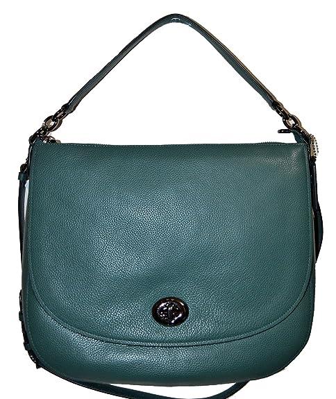 Coach Turnlock Leather Hobo Purse -  F24771  Amazon.ca  Shoes   Handbags 74703f4bd3578
