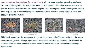 Amazon.com: Homeowners Bleach Stain Carpet Repair Kit by bleachstain: Home & Kitchen