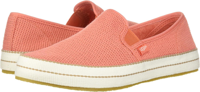 UGG Women's Bren Sneaker, vibrant coral