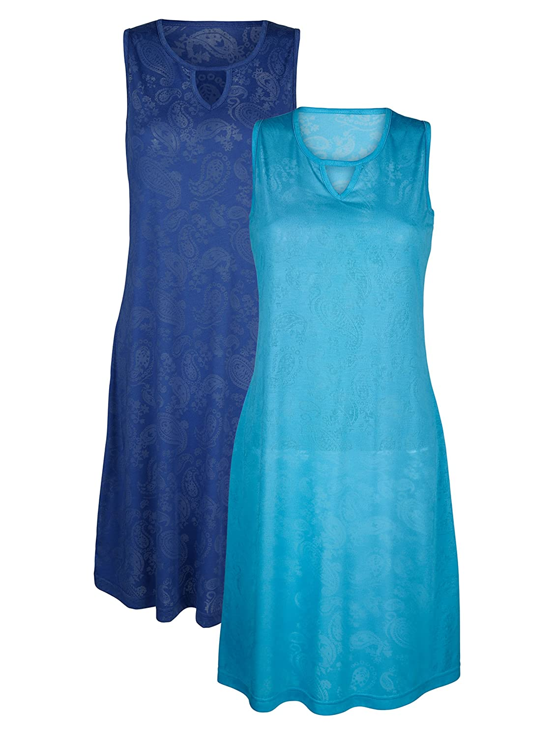 Damen Strandkleid Single Jersey in Ausbrenner-Optik by Maritim