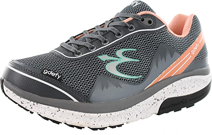 Gravity Defyer Proven Pain Relief Women's G-Defy Mighty Walk - Shoes for Heel Pain, Foot Pain - US Sizes