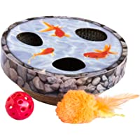 Petstages Hide & Seek Wobble Pond Interactive Cat Toy