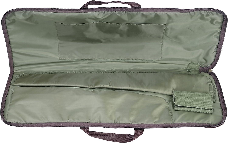 Tourbon Tactical Shotgun Case Rutenfutteral Gewehrtasche Soft Case Camo 128cm