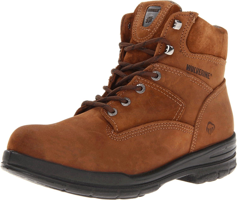 ウルヴァリンMen 's w02053 Durashock Boot B000FHBCGO 12 D(M) US|ブラウン ブラウン 12 D(M) US
