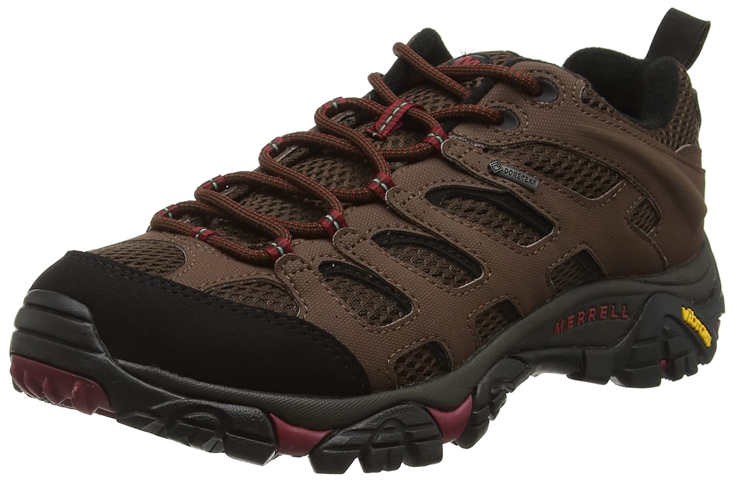 Merrell Men's Moab Gore-Tex Waterproof Hiking Shoe Merrell Footwear Moab Gore-Tex-M