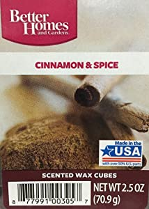 Better Homes and Gardens Cinnamon & Spice Wax Cubes