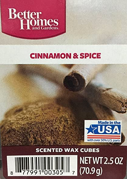 excellent better homes and gardens scented wax cubes. Better Homes and Gardens Cinnamon  Spice Wax Cubes Amazon com