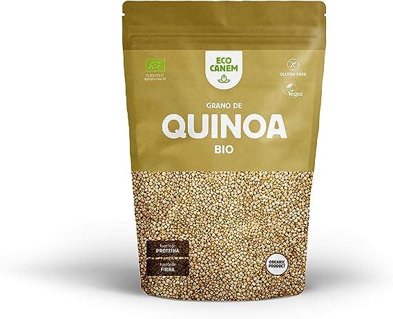 Ecocanem Quinoa Real bio en grano. Calidad Premium. 2 kg + ...