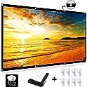EZT3D 16:9 HD Anti-Crease Foldable 120 inch Projection Screen