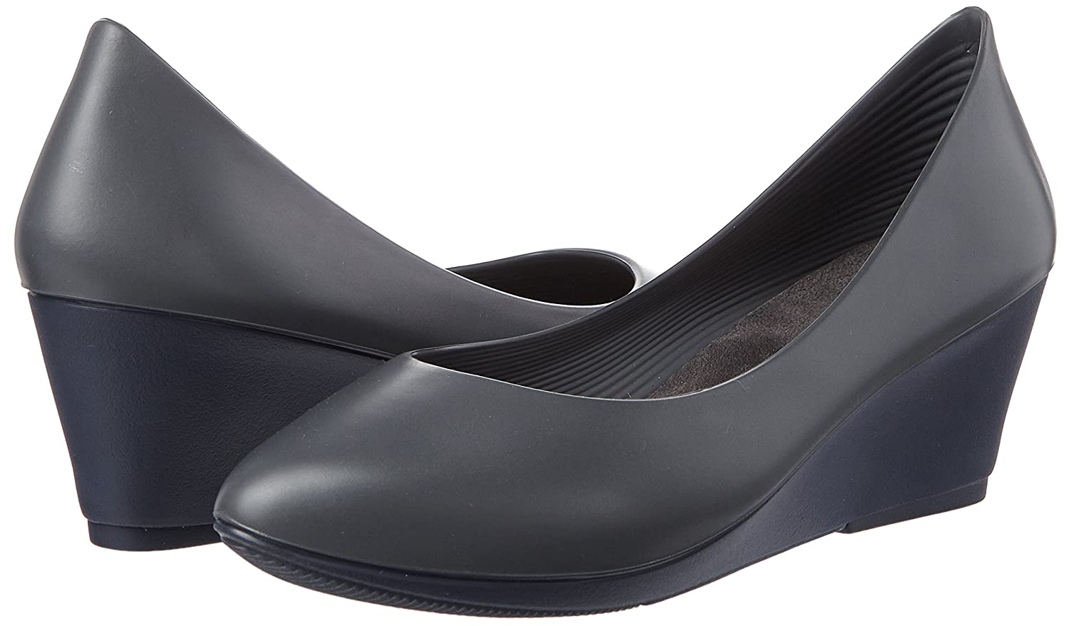 Walk&rest Wedge Damen Wedge Walk&rest Geschlossene Ballerinas Grau (Grau) 45194f