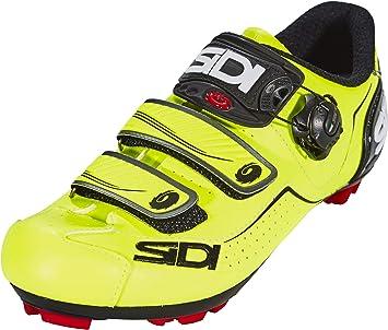 SIDI - Zapatillas de ciclismo de color amarillo neón y negro ...