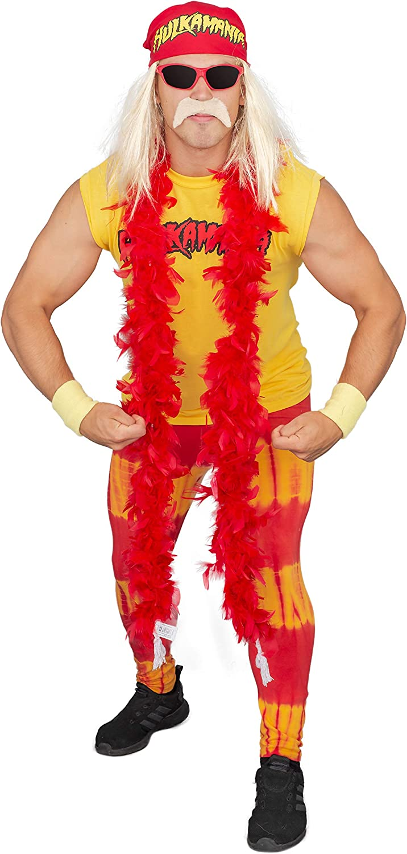 Juniors Woman//Teens WWE Wrestling Hulkamania Hulk Hogan Wrestle Red T-shirt Tee