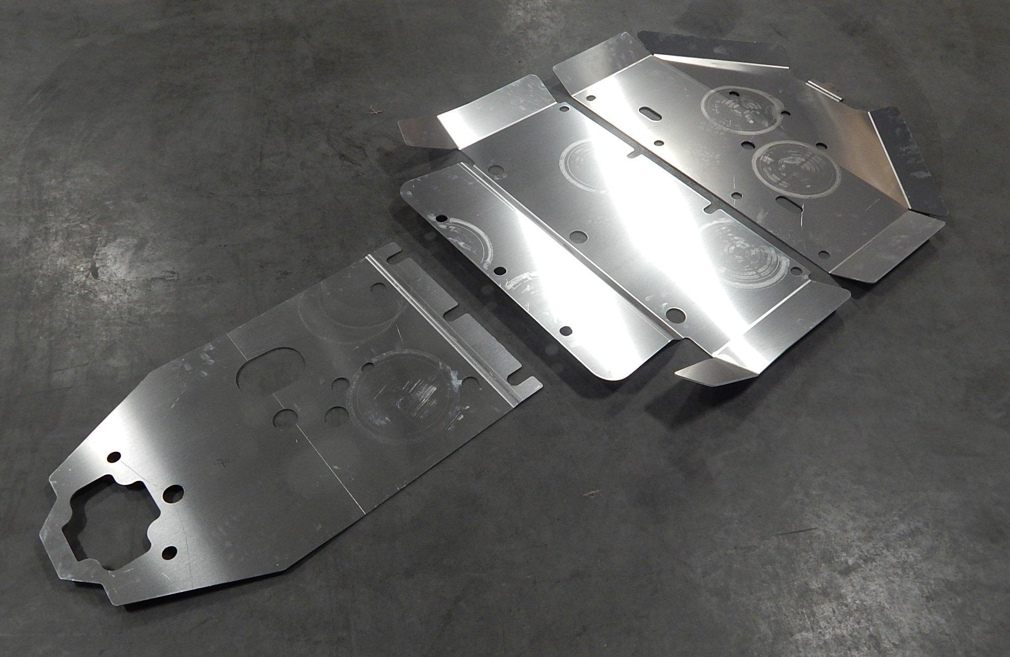2016-17 Polaris RZR XP 1000 & XP Turbo Skid Plate