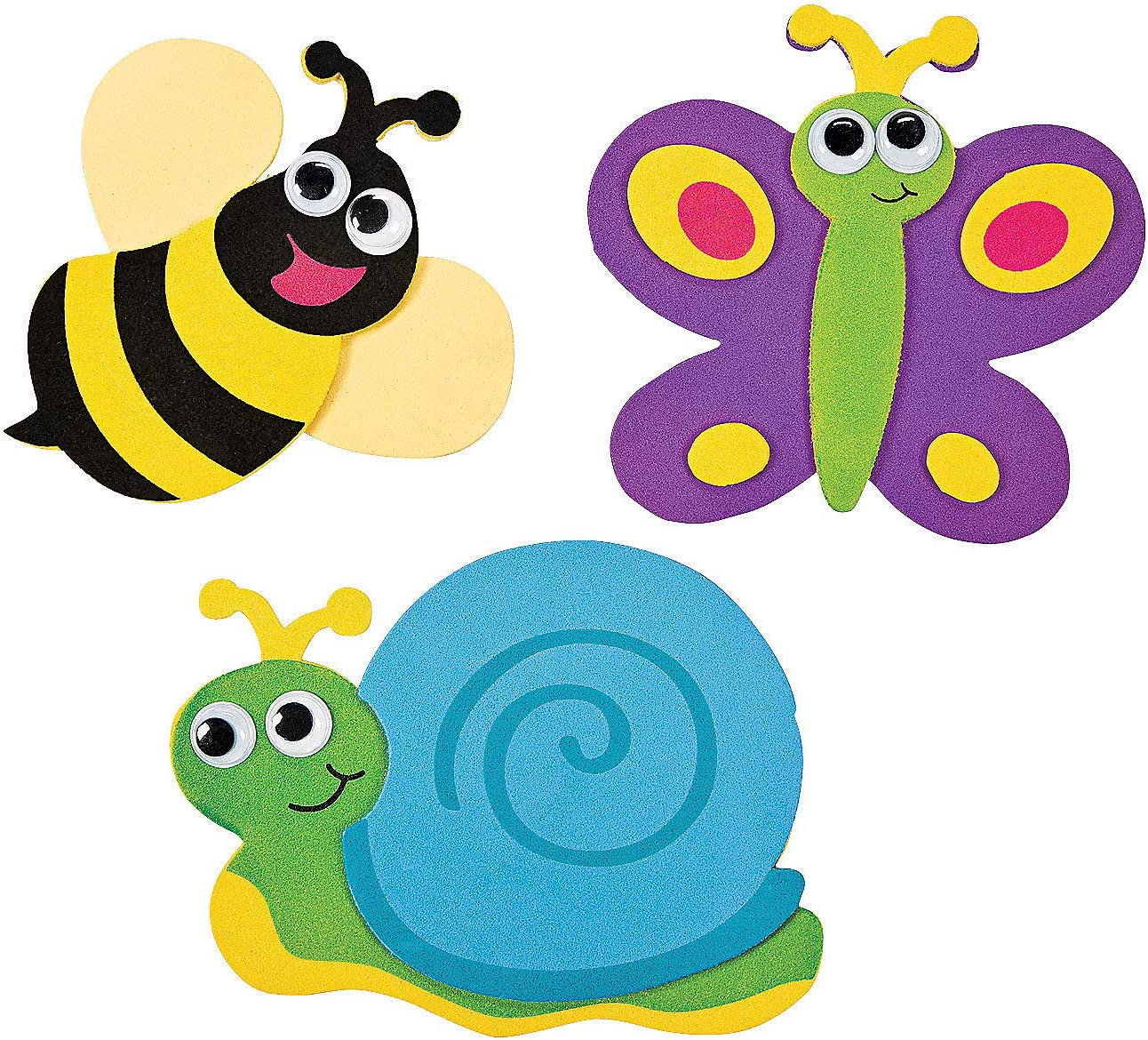 Bug Foam Magnet Ck - Crafts for Kids and Fun Home Activities