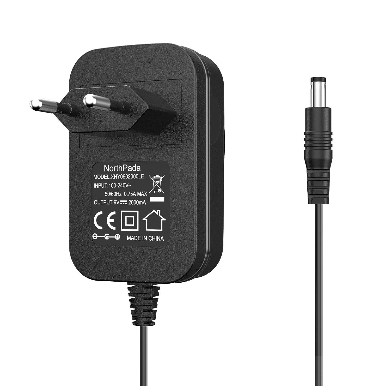 Nort hpada 18 W 9 V 2 A cable de carga Cargador para Arduino UNO ...