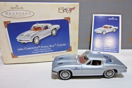 Amazon.com: Hallmark Keepsake 1963 Corvette Sting Ray Coupe 2003 ...