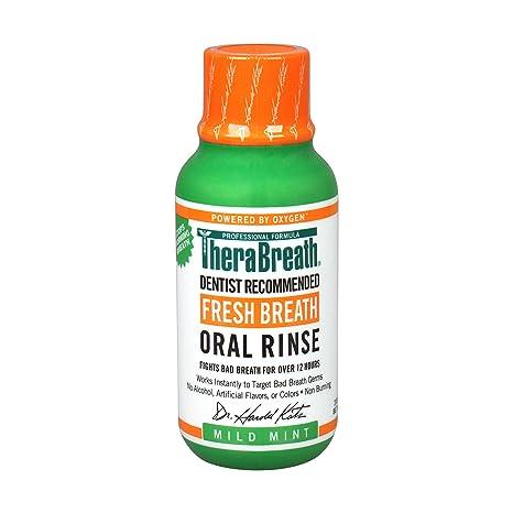 Buy TheraBreath, Fresh Breath Oral Rinse, Mild Mint Flavor, 3 fl oz ...