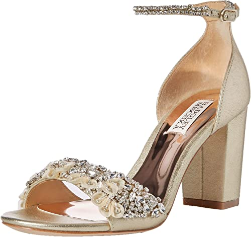 Badgley Mischka Womens Finesse Heeled Sandal
