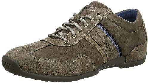 Mens Space 25 Low-Top Sneakers, Dk.Grey/Grey/Taupe, 7 UK Camel Active