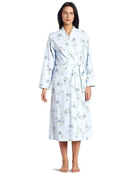 Amazon.com: Carole Hochman - Albornoz para mujer: Clothing