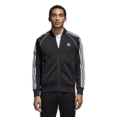 c5ac7243178c adidas Originals Men's Superstar Track Jacket, Black, X-Small