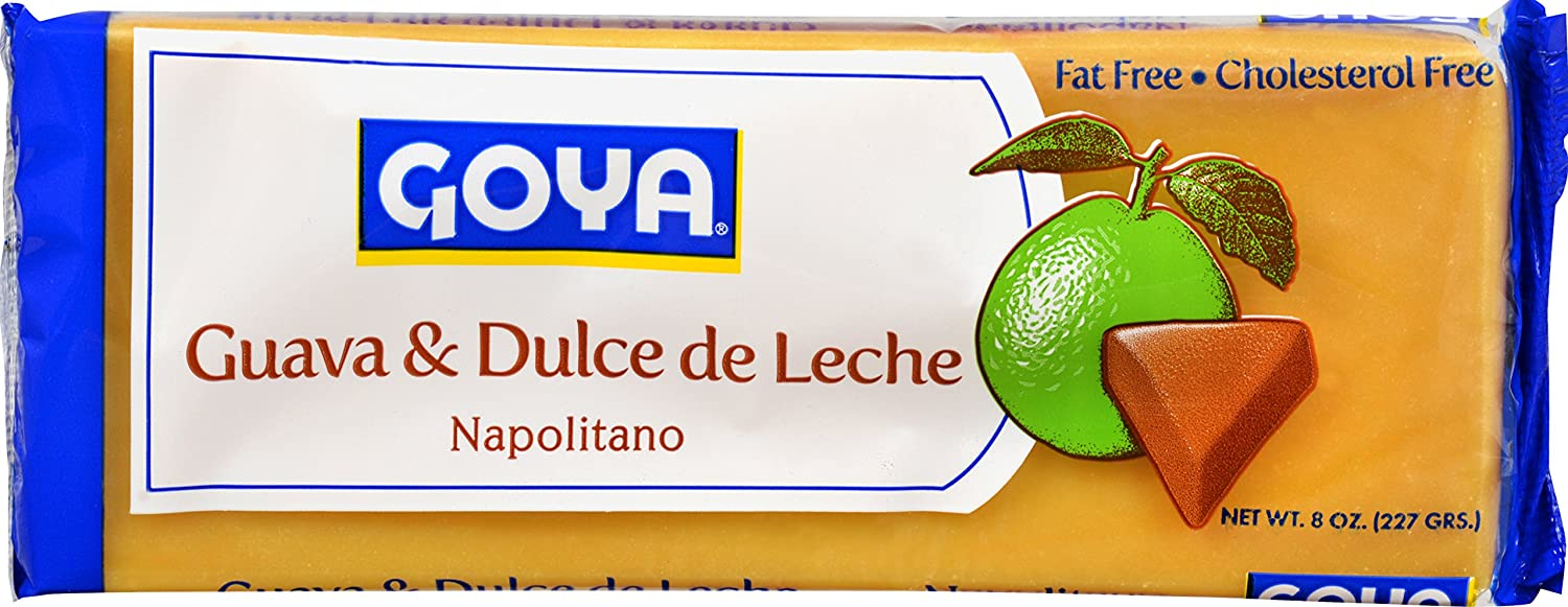 Amazon.com : Goya Foods Napolitano Guava & Dulce De Leche, 8 Ounce (pack of 12) : Grocery & Gourmet Food