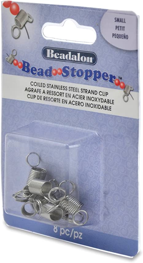 Beadalon bead stoppers 4 grands 4 petits en mixed pack
